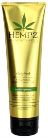Hempz Original Herbal Conditioner For Damaged & Color Treated Hair - Кондиционер растительный Оригинальный для поврежденных окрашенных волос 265мл - фото 5875