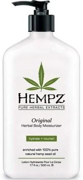 Hempz Original Herbal Moisturizer - Молочко для тела увлажняющее оригинальное 265мл - фото 5876