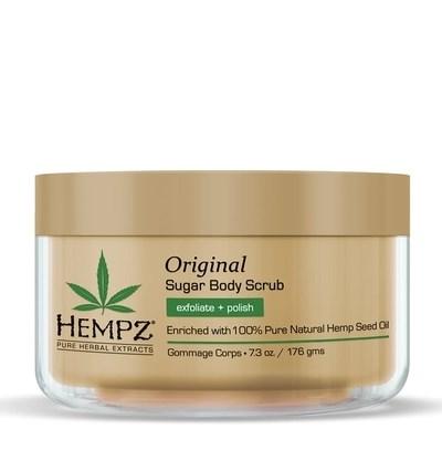 Hemps Original Herbal Sugar Body Scrub - Скраб для тела Оригинальный 176гр - фото 5878