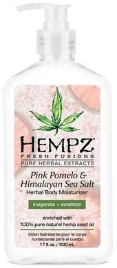 Hempz Pink Pomelo & Himalayan Sea Salt Herbal Body Moisturizer - Молочко для тела увлажняющее Помело и Гималайская соль 500мл - фото 5881