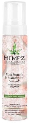 Hempz Pink Pomelo & Himalayan Sea Salt Herbal Foaming Body Wash - Гель-мусс для душа Помело и Гималайская соль 250мл - фото 5882