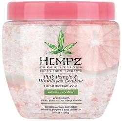 Hempz Pink Pomelo & Himalayan Sea Salt Herbal Body Salt Scrub - Скраб для тела Помело и Гималайская соль 155мл - фото 5883