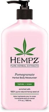 Hempz Pomegranate Herbal Body Moisturizer - Молочко Гранат для тела увлажняющее 500мл - фото 5889