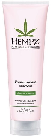 Hempz Body Wash Pomegranate - Гель для душа  Гранат 250мл - фото 5890