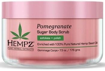 Hempz Body Scrub Sugar & Pomegranate - Скраб для тела Сахар и Гранат 176гр - фото 5891