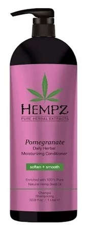 Hempz Daily Herbal Moisturizing Pomegranate Conditioner - Кондиционер растительный увлажняющий и разглаживающий Гранат 1000мл - фото 5893