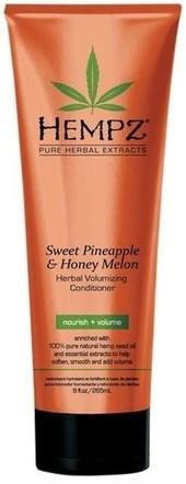 Hempz Sweet Pineapple & Honey Melon Volumizing Conditioner - Кондиционер растительный Ананас и Медовая Дыня для придания объёма 265мл - фото 5900