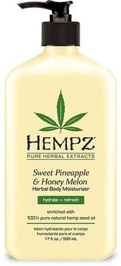 Hempz Sweet Pineapple & Honey Melon Herbal Body Moisturizer - Молочко для тела увлажняющее Ананас & Медовая Дыня 500мл - фото 5901