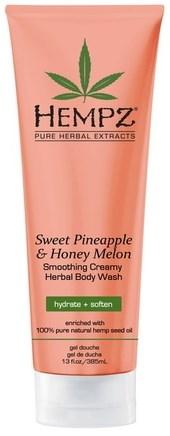 Hempz Sweet Pineapple & Honey Melon Herbal Body Wash - Гель для душа Ананас & Медовая Дыня 250мл - фото 5902
