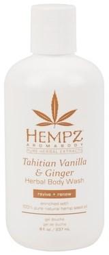 Hempz Tahitian Vanilla & Ginger Herbal Body Wash - Гель для душа Имбирь и Ваниль Таити 237мл - фото 5907