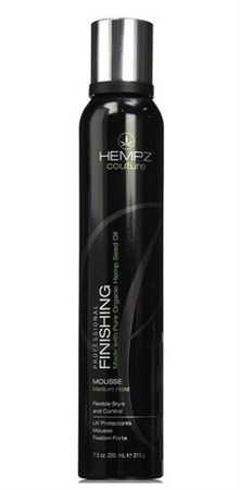 Hempz Finishing Mousse Medium Hold - Мусс для укладки средней фиксациии 220 мл - фото 5913