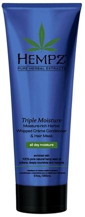 "Кондиционер ""Hempz Hair Care Triple Moisture Replenishing Conditioner Тройное увлажнение"" 265мл - фото 5914"