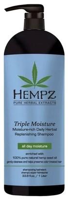 Hempz Triple Moisture Replenishing Shampoo - Шампунь Тройное увлажнение 1000мл - фото 5915