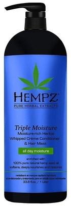 Hempz Triple Moisture Replenishing Conditioner - Кондиционер Тройное увлажнение 1000мл - фото 5916