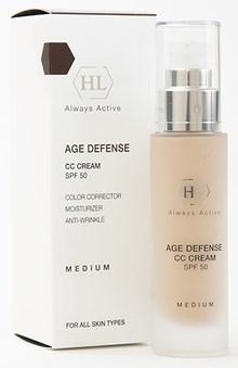 Holy Land Age Defense CC Cream Medium SPF 50 - Крем корректирующий натуральный оттенок 50мл - фото 5973
