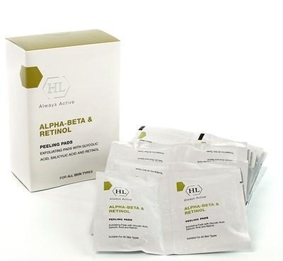 Holy Land Alpha-Beta & Retinol Peeling Pads - Отшелушивающие салфетки 24шт - фото 5977