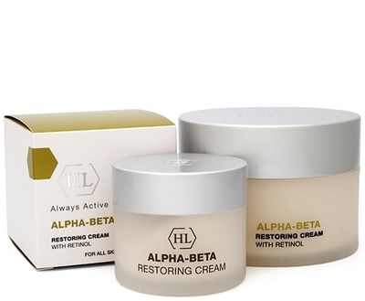 Holy Land Alpha-Beta & Retinol Restoring Cream - Крем восстанавливающий 50мл - фото 5979