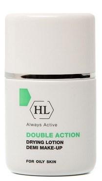 Holy Land Double Action Drying Lotion+Make Up - Подсушивающий лосьон с тоном 30мл - фото 6051