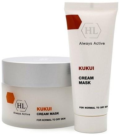 Holy Land Kukui Cream Mask For Dry Skin - Маска увлажняющая смягчающая 250мл - фото 6079