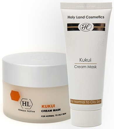 Holy Land Kukui Cream Mask For Oily Skin - Маска подтягивающая 70мл - фото 6081