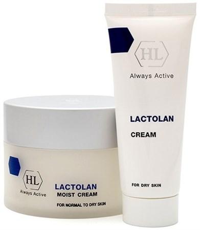 Holy Land Lactolan moist cream for dry - Крем легкий увлажняющий 70мл - фото 6084