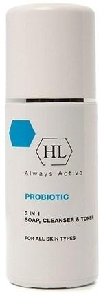Holy Land ProBiotic 3 In 1 Soap Cleanser & Toner - Нежный очиститель 3 в 1 мыло клинсер и тоник 150мл - фото 6124