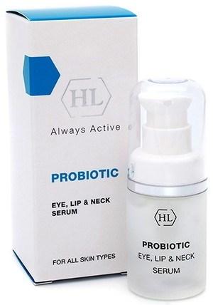 Holy Land ProBiotic Eye, Lip & Neck Serum - Сыворотка для век, губ и шеи 15мл - фото 6126