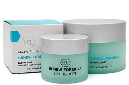 Holy Land Renew Formula Hydro-Soft Cream - Крем увлажняющий с антикуперозным действием 250мл - фото 6135
