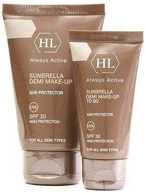 Holy Land Sunbrella Demi Make-Up Spf 30 - Крем солнцезащитный с тоном 125мл - фото 6145