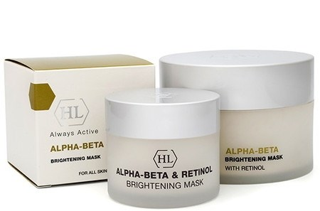 Holy Land Alpha-Beta & Retinol Brightening Mask - Маска осветляющая 250мл - фото 6178