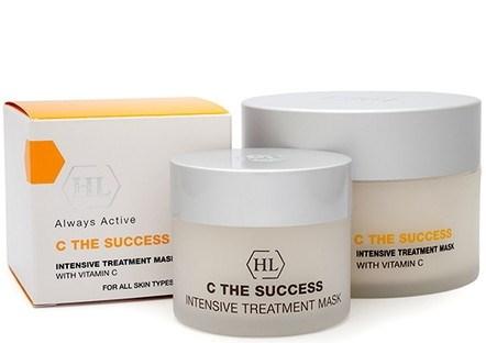 Holy Land C The Success Intensive Treatment Mask - Маска интенсивная лечебная с витамином С 250мл - фото 6204