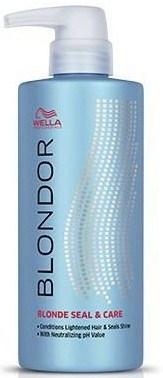 Wella Professionals Blondor Blonde Seal & Care - Стабилизатор Цвета и Блеска 500мл - фото 6226