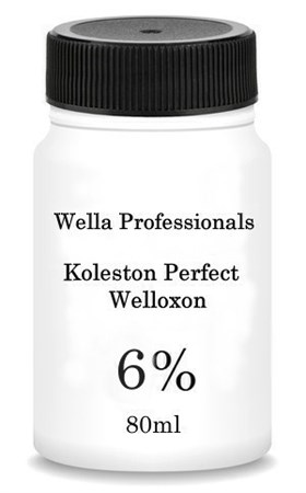 Wella Professionals Koleston Perfect Welloxon - Окисид 6% для окрашивания волос 80мл - фото 6235