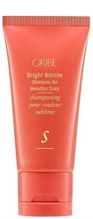 Oribe Shampoo Bright Blonde - Шампунь Великолепие цвета для светлых волос 50мл - фото 6475