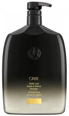 Oribe Gold Lust Repair & Restore Shampoo - Шампунь восстанавливающий Роскошь золота 1000мл - фото 6499