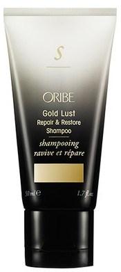 Oribe Gold Lust Repair & Restore Shampoo - Шампунь восстанавливающий Роскошь золота 50мл - фото 6501