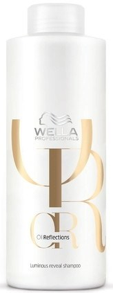 Wella Oil Reflections Shampoo - Шампунь для интенсивного блеска волос 1000мл - фото 6703