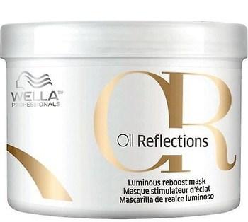 Wella Oil Reflections Mask - Маска для интенсивного блеска волос 500мл - фото 6705