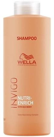 Wella Professionals INVIGO Nutri-Enrich Deep Nourishing Shampoo - Ультрапитательный шампунь 1000мл - фото 6760