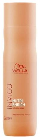 Wella Professionals INVIGO Nutri-Enrich Deep Nourishing Shampoo - Ультрапитательный шампунь 250мл - фото 6761