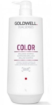 Goldwell Dualsenses Color Brilliance Shampoo - Шампунь для блеска окрашенных волос 1000мл - фото 6931