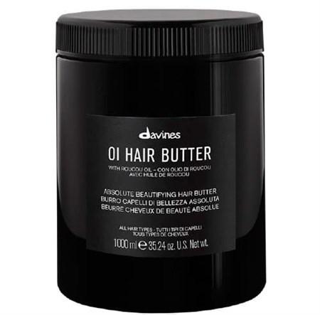 Davines OI Hair Butter - Питательное масло для абсолютной красоты волос 1000мл - фото 7803