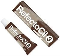 RefectoCil № 3 - Краска для бровей и ресниц Коричневый 15мл