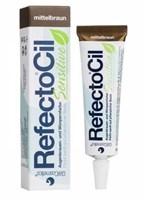 RefectoCil SENSITIVE - Краска для бровей и ресниц коричневая 15мл