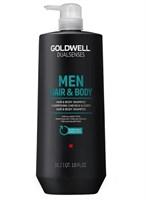 Goldwell Dualsenses For Men Hair&Body Shampoo - Шампунь для волос и тела 1500мл