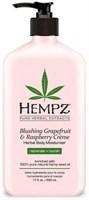 "Молочко ""Hempz Blushing Grapefruit Raspberry Moisturizer Грейпфрут и малина"" 500мл для тела"