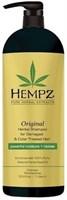 Hempz Original Herbal Shampoo For Damaged & Color Treated Hair - Шампунь растительный Оригинальный для поврежденных окрашенных волос 1000мл