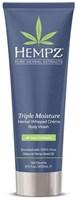 """Гель """"Hempz Triple Moisture Herbal Body Wash тройное увлажнение"""" 250мл для душа"""