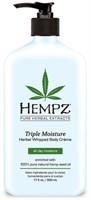 Молочко Hempz Herbal Body Triple Moisture тройное увлажнение 500мл для тела