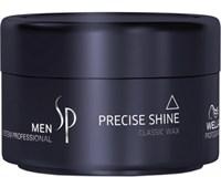 Wella SP Men Precise Shine Wax - Воск для укладки и блеска волос 75 мл